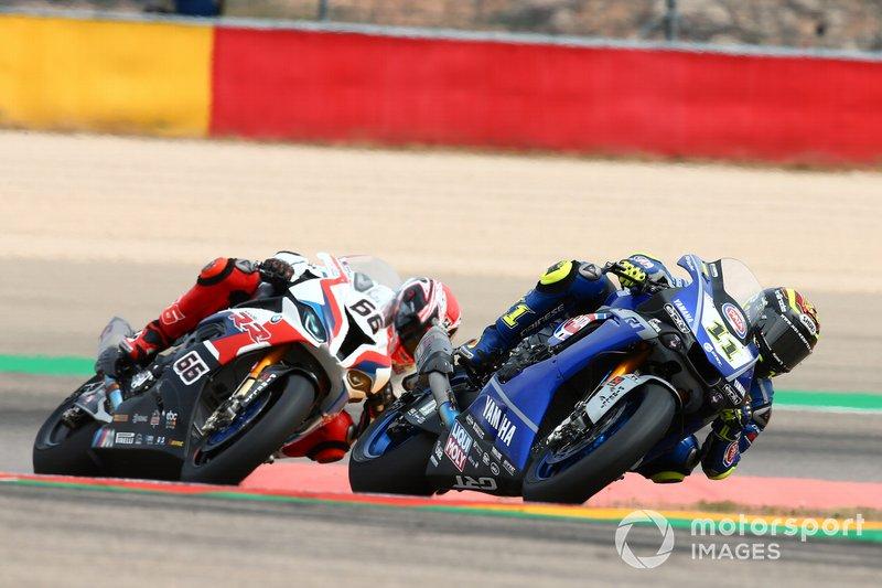 Sandro Cortese, GRT Yamaha WorldSBK, Tom Sykes, BMW Motorrad WorldSBK Team