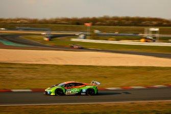 #82 Orange1 by GRT Grasser Lamborghini Huracán GT3: Rolf Ineichen, Christian Engelhart
