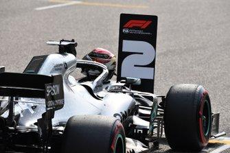 The car of Lewis Hamilton, Mercedes AMG F1 W10,