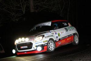 Fabio Poggio, Martina Balducchi, Suzuki Swift R1 #70, Alma Racing