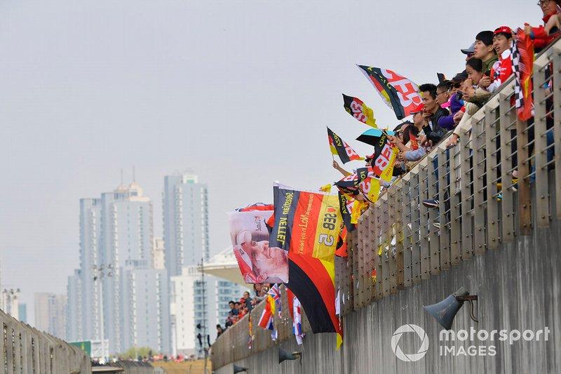 Fans de Sebastian Vettel, Ferrari
