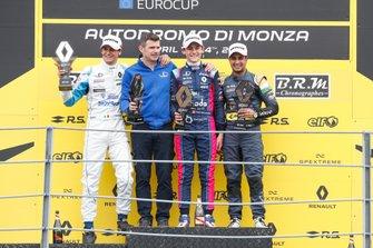 Podyum: Yarış galibi Ugo De Wilde, JD Motorsport, 2. Leonardo Lorandi, JD Motorsport, 3. Kush Maini, M2 Competition