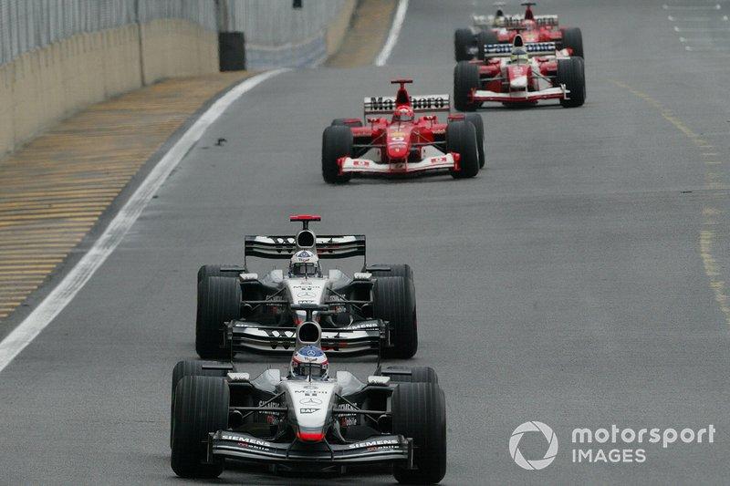 Kimi Raikkonen, McLaren, David Coulthard, McLaren