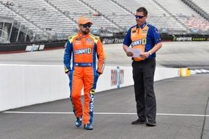 Ricky Stenhouse Jr., Roush Fenway Racing, Ford Mustang SunnyD and Brian Pattie