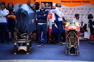 Garage of Jorge Lorenzo, Repsol Honda Team
