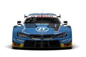 Decoración del BMW M4 DTM de Philipp Eng