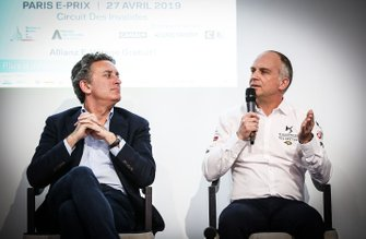 Alejandro Agag, CEO, Formula E, Xavier Mestelan, Head of DS Performance
