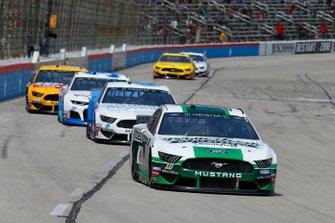Aric Almirola, Stewart-Haas Racing, Ford Mustang Smithfield Prime Fresh, Ryan Newman, Roush Fenway Racing, Ford Mustang Wyndham Rewards
