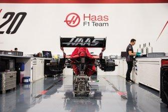 Haas Factory detail