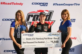 Pole Winner Race 2, Parker Thompson