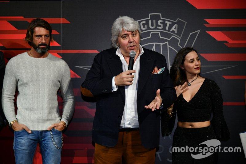 Giovanni Cuzari, Giovanni Castiglioni, MV Agusta Forward Racing