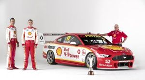 Scott McLaughlin, Fabian Coulthard, Dick Johnson, Shell V-Power Racing Team