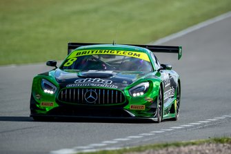 #8 Team ABBA Racing Mercedes-AMG GT3: Richard Neary, Adam Christodoulou