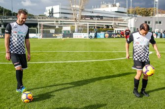 Jean-Eric Vergne, DS TECHEETAH, Felipe Massa, Venturi Formula E at the Formula E charity football match