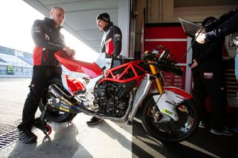 MV bike of Stefano Manzi, Forward Racing
