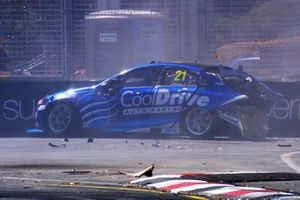Macauley Jones, Brad Jones Racing crash