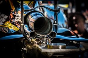 Renault F1 Team R.S.19, dettaglio dello scarico