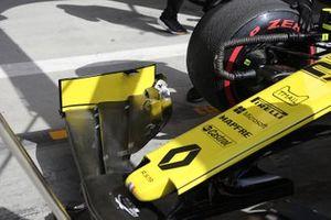 Renault F1 Team voorvleugel detail