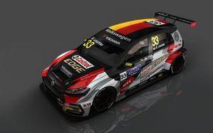 Benjamin Leuchter, Volkswagen Golf TCR