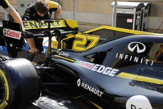 Renault F1 Team R. S. 19, dettaglio posteriore