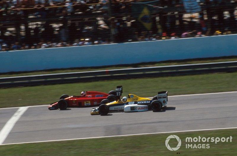 Recorde de participações: A corrida marcou um novo recorde de GPs na F1. Riccardo Patrese largou pela 177ª vez na carreira, superando o francês Jacques Laffite. Ele quebrou quando era o quarto, a dez voltas do fim.