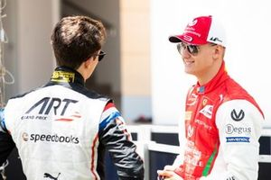 Mick Schumacher, PREMA RACING ve Nyck De Vries, ART GRAND PRIX