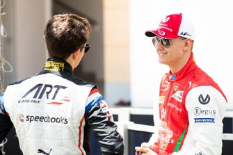 Mick Schumacher, PREMA RACING en Nyck De Vries, ART GRAND PRIX