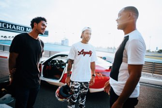 Trey Smith, Lewis Hamilton, Will Smith
