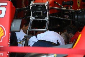 Detalle delantero de Ferrari SF90