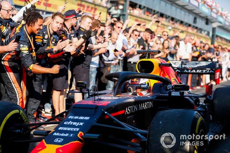 18-) Honda podyuma, Red Bull ve Verstappen'le döndü