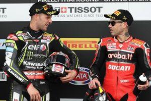 1. Alvaro Bautista, Aruba.it Racing-Ducati Team, 2. Jonathan Rea, Kawasaki Racing
