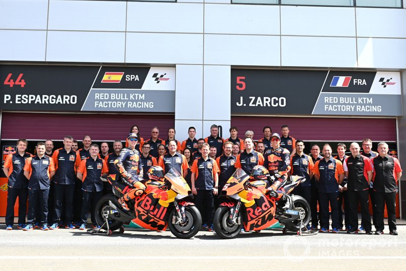 Team Red Bull KTM, Pol Espargaro, Red Bull KTM Factory Racing, Johann Zarco, Red Bull KTM Factory Racing