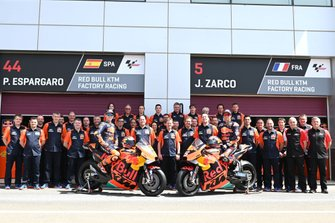 El equipo Red Bull KTM, Pol Espargaro, Red Bull KTM Factory Racing, Johann Zarco, Red Bull KTM Factory Racing