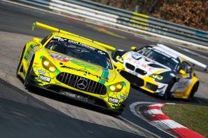 #48 MANN-FILTER Team HTP Motorsport Mercedes-AMG GT3: Maximilian Götz, Christian Hohenadel, Raffaele Marciello