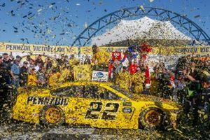 1. Joey Logano, Team Penske, Ford Mustang Pennzoil