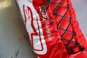 Pascal Wehrlein, Mahindra Racing, M5 Electro, boot detail