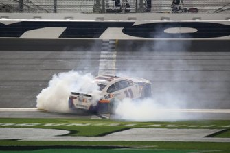 Denny Hamlin, Joe Gibbs Racing, Toyota Camry FedEx Express wins his second Daytona 500