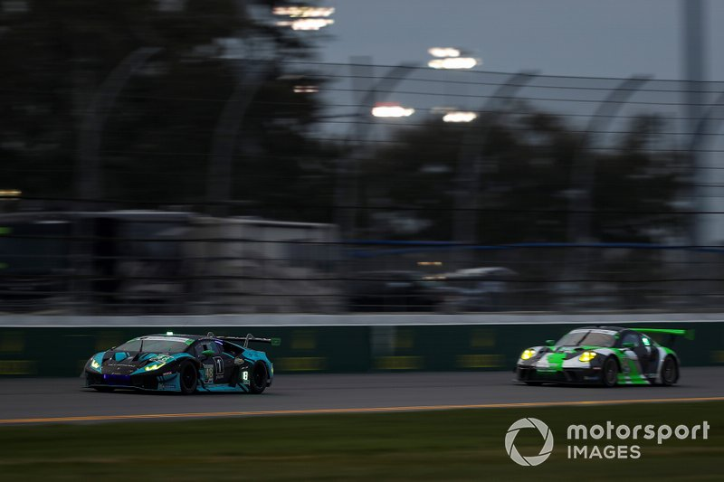 Брайан Селлерс, Райан Хардвик, Кори Льюис, Андреа Кальдарелли, Paul Miller Racing, Lamborghini Huracan GT3 (№48)