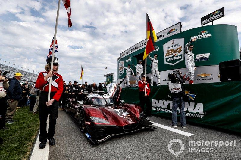 Oliver Jarvis, #77 Mazda Team Joest Mazda DPi, DPi