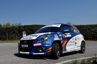 Roberto Pelle, Giulia Luraschi, Suzuki Swift R1, Destra 4
