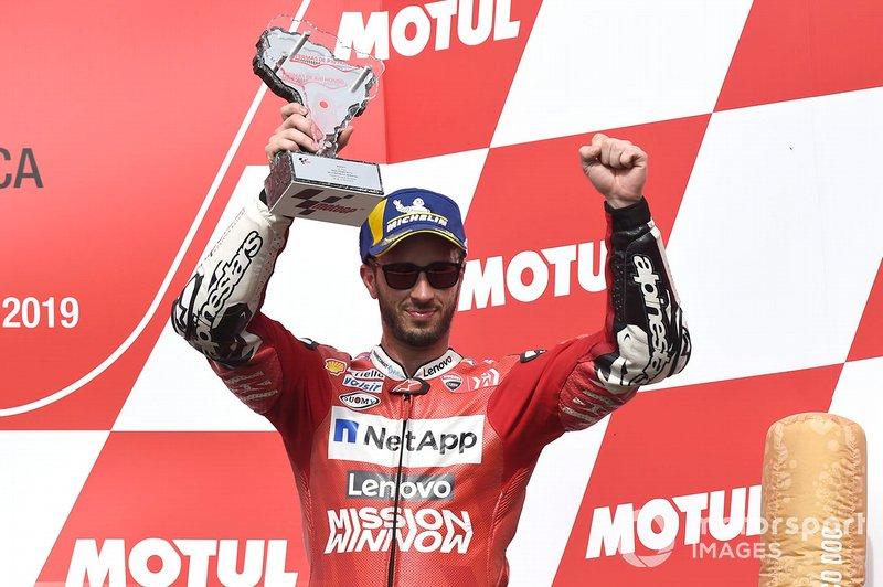 Podio: 3º Andrea Dovizioso, Ducati Team