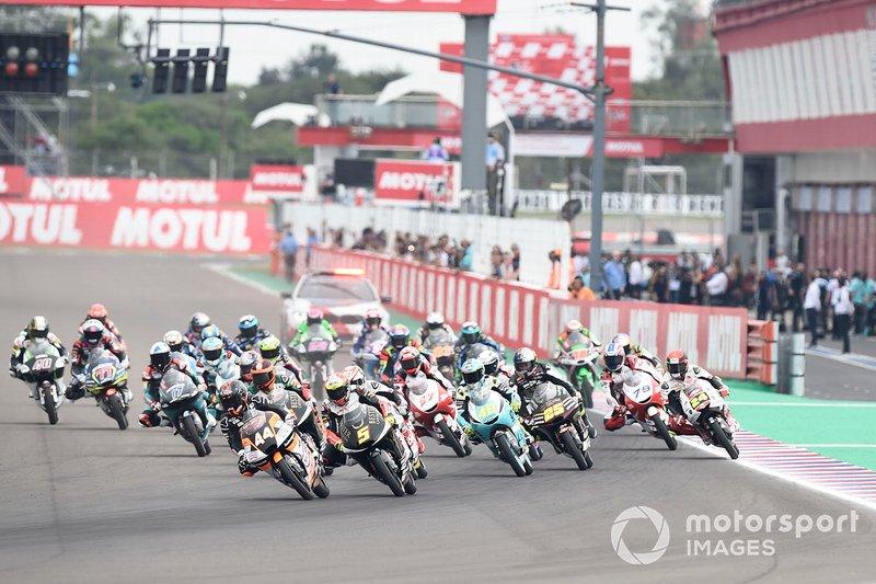 Aron Canet, Max Racing Team, Jaume Masia, Bester Capital Dubai, race start