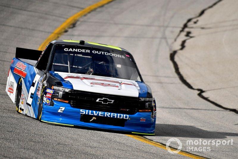Sheldon Creed, GMS Racing, Chevrolet Silverado AM Ortega/United Rentals