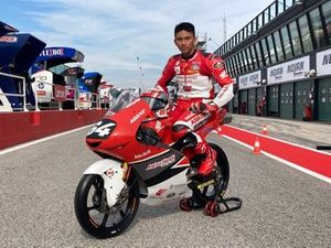 Mario Suryo Aji, Honda Team Asia