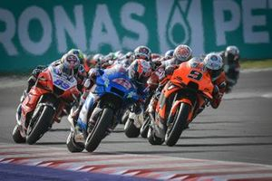 Alex Rins, Team Suzuki MotoGP, Danilo Petrucci, Red Bull KTM Tech 3, Jorge Martín, Pramac Racing