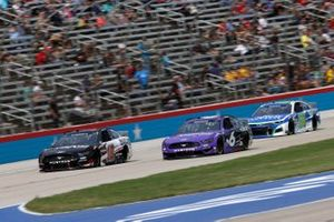 Aric Almirola, Stewart-Haas Racing, Ford Mustang Ford Smithfield/Walk-On's, Ryan Newman, Roush Fenway Racing, Ford Mustang Violet Defense