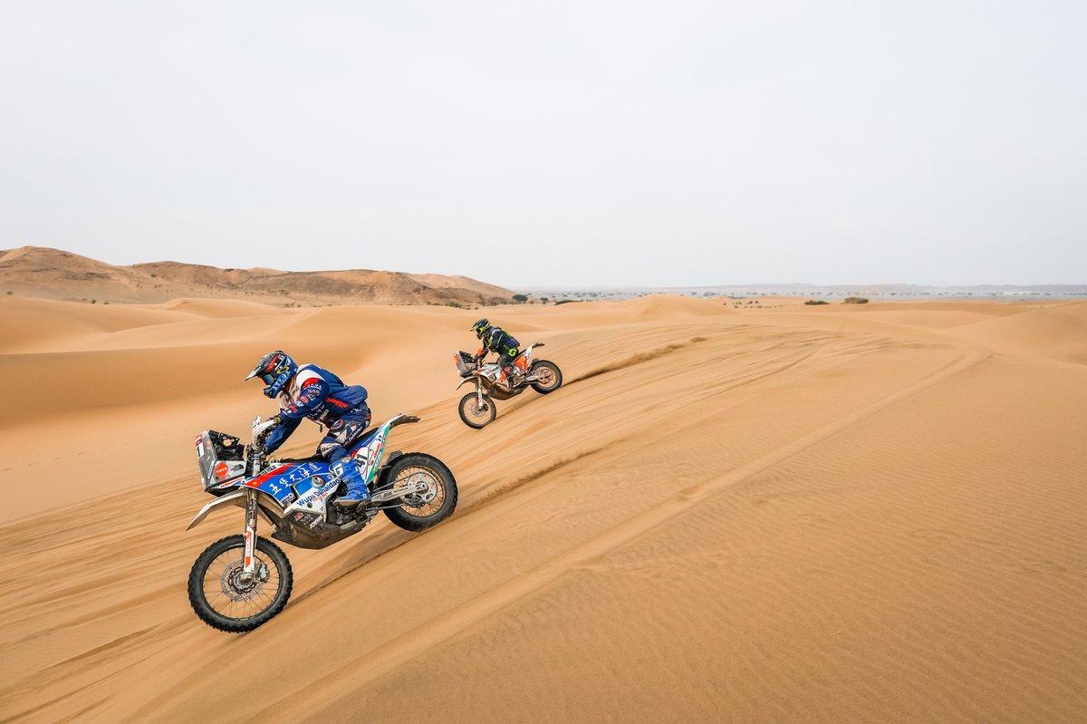 #41 Wu Pu Da Hai Dao Dakar Rally Team KTM: Zaker Yakp