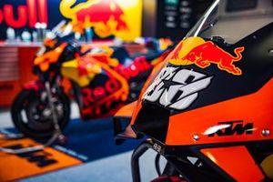 La moto de Miguel Oliveira, Red Bull KTM Factory Racing