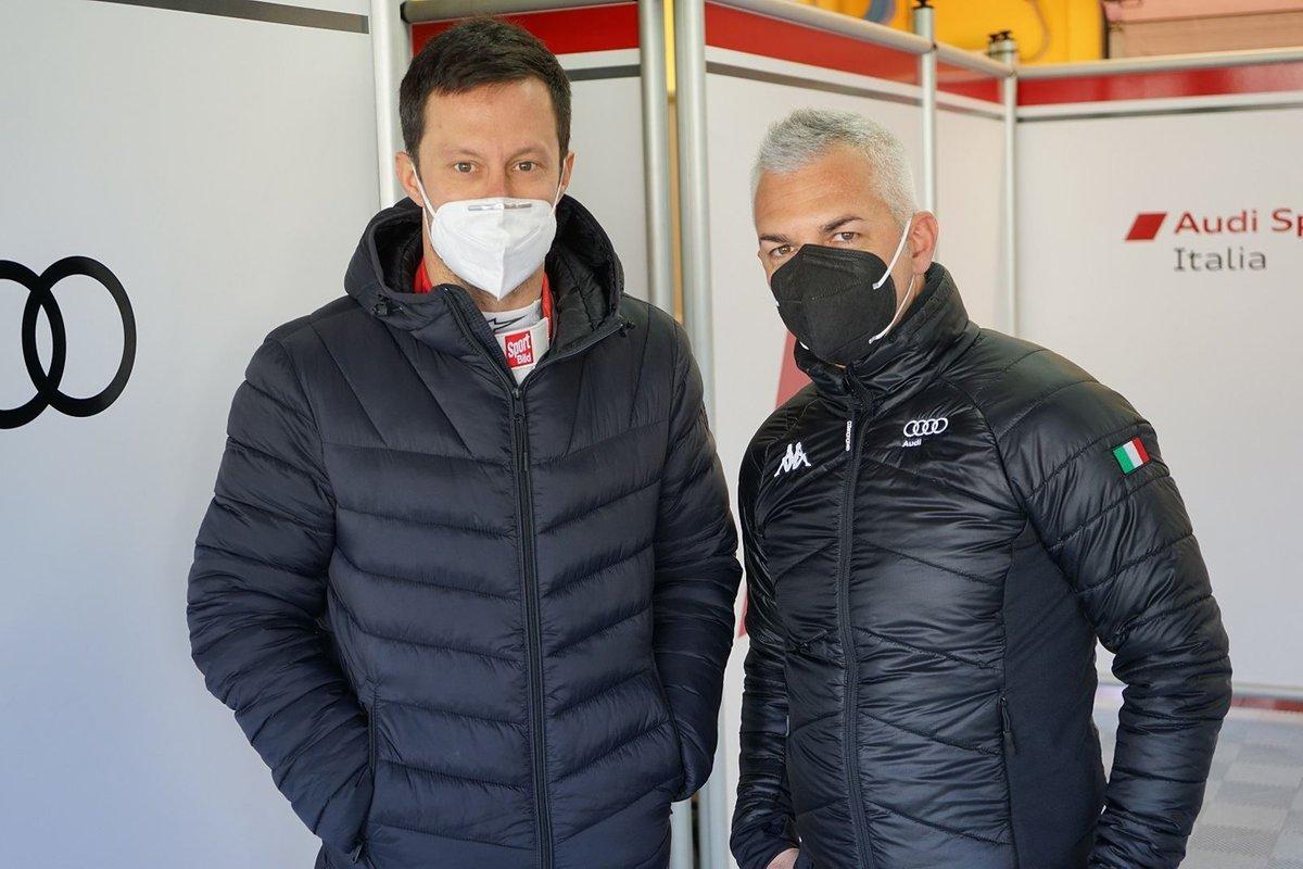 Filip Salaquarda, Vito Postiglione, Audi Sport Team Italia