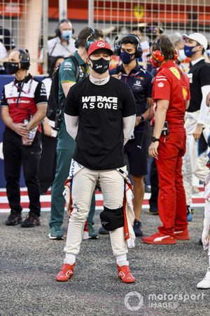 Nikita Mazepin, Haas F1, sulla griglia